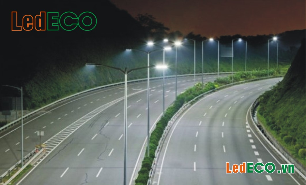 Cáp điện-Cột đèn-Đèn đường LED
