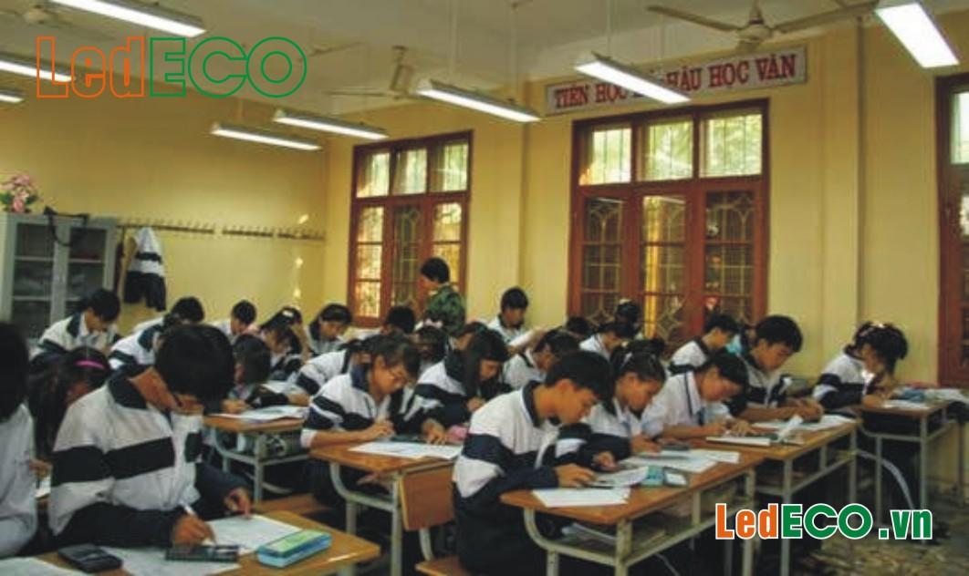 Bộ máng đèn lớp học