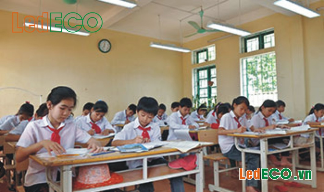 Bộ đèn LEDtube ứng dụng cho lớp học
